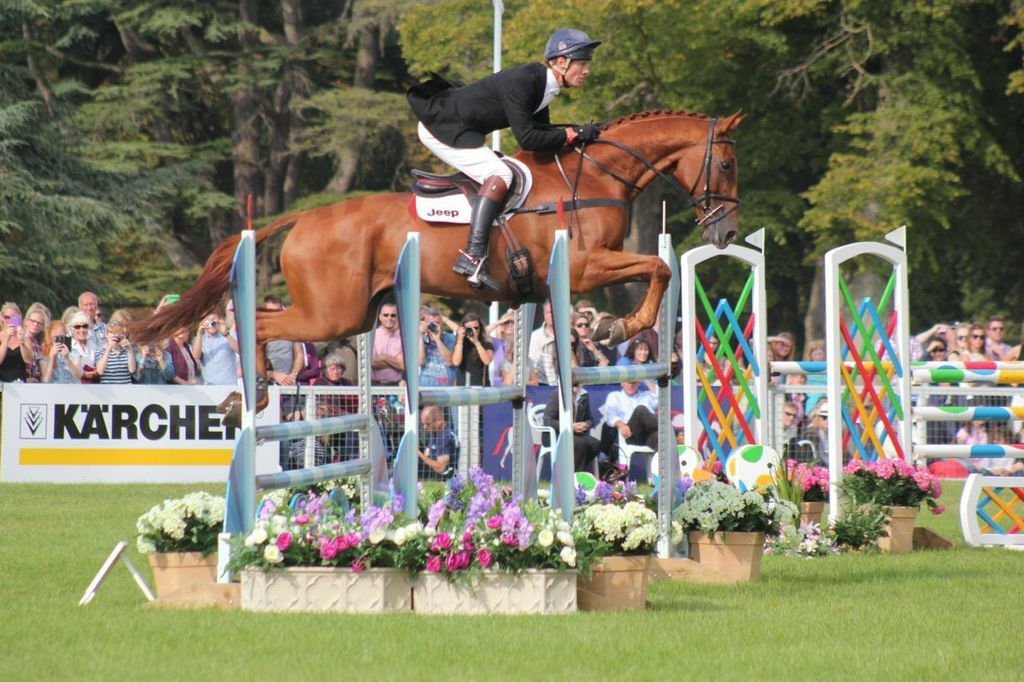 Blenheim - Show jumping and results