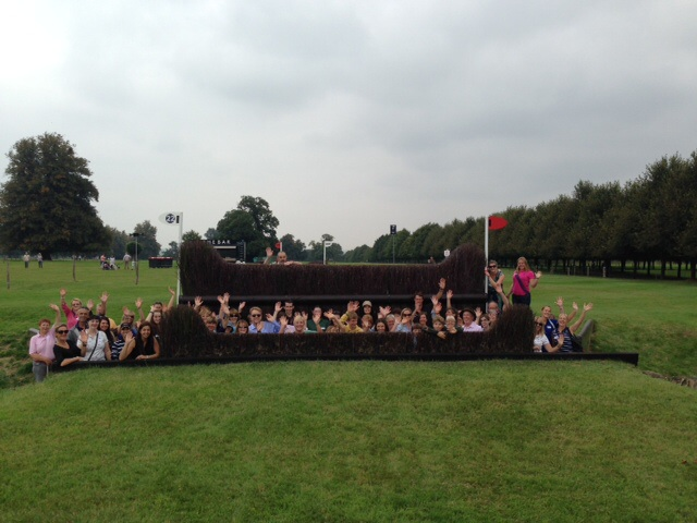 Burghley - Fox-Pitt Club walk