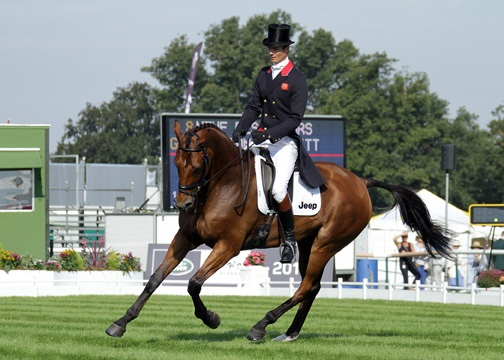 Burghley - Day 1 Dressage