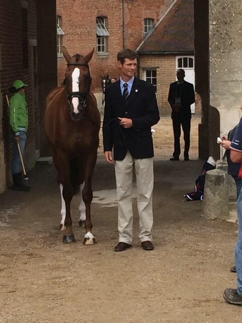 WEG - Trot up and times