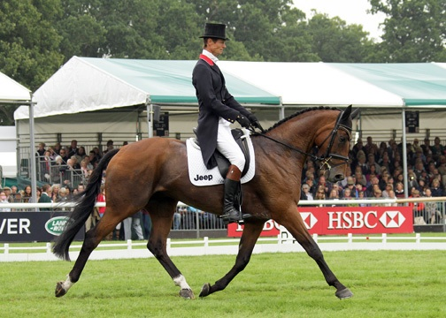 Burghley - Day 2 Dressage
