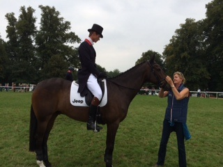 Burghley - Dressage